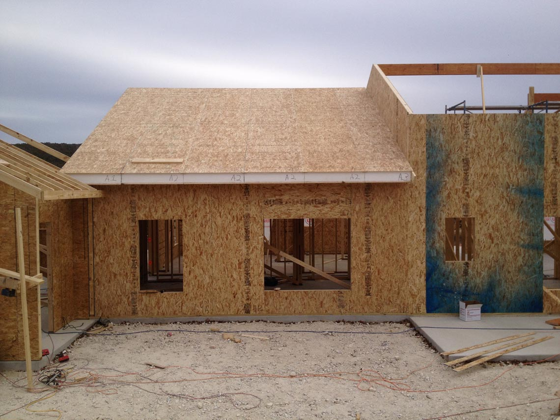 Structural insulated panels for Sip home construction